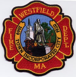 Westfield firefighters rescue dog