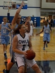 Sophomore guard Jen Ashton led Westfield with a game-high 15 points. (File photo by Mickey Curtis)