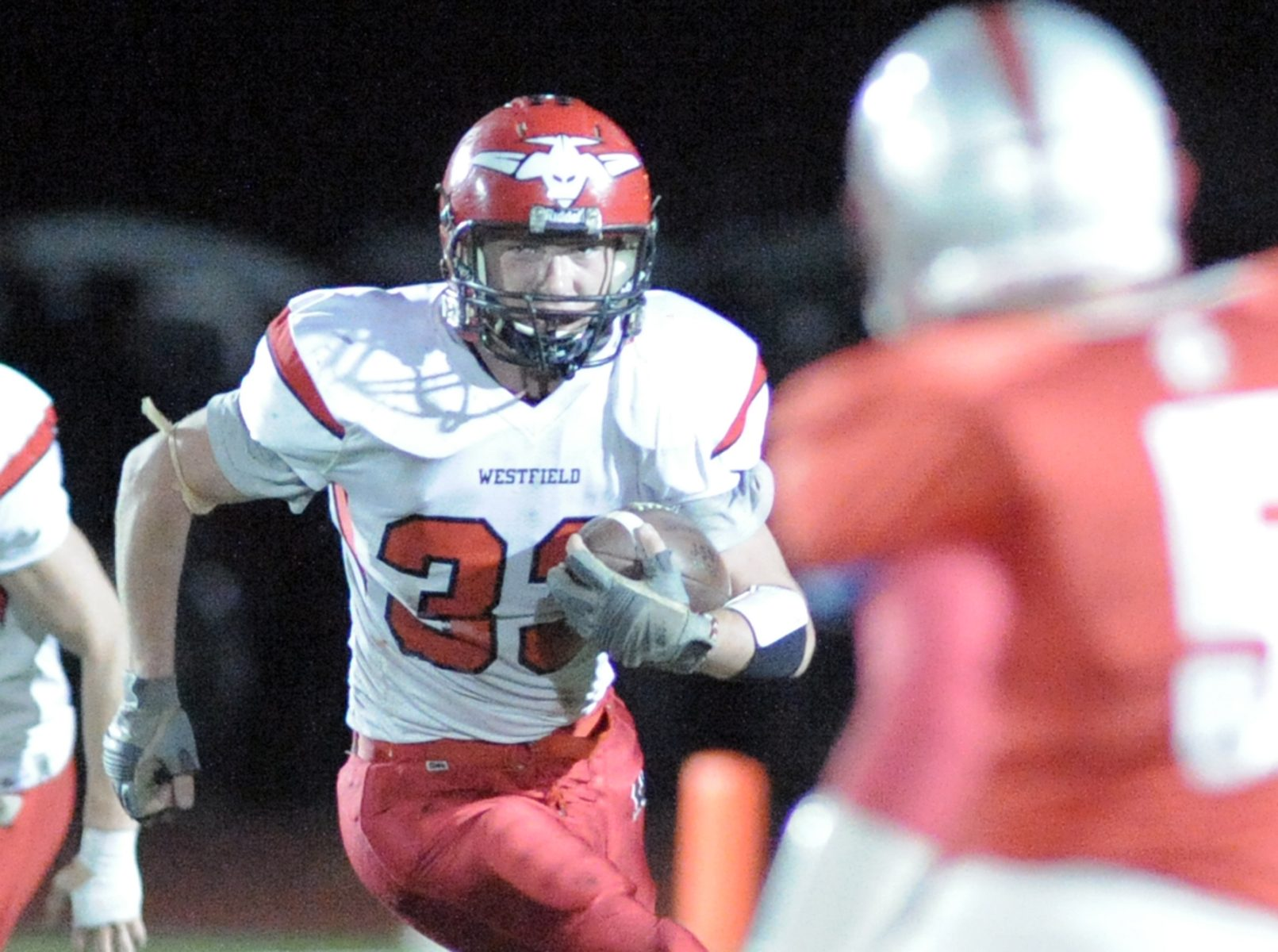 against East Longmeadow Friday night. (Photo by Frederick Gore