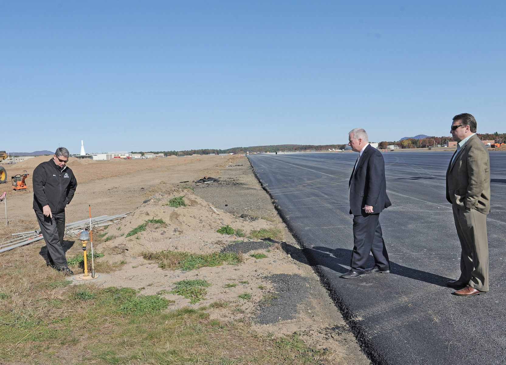 Runway scheduled to reopen | The Westfield News |October ...