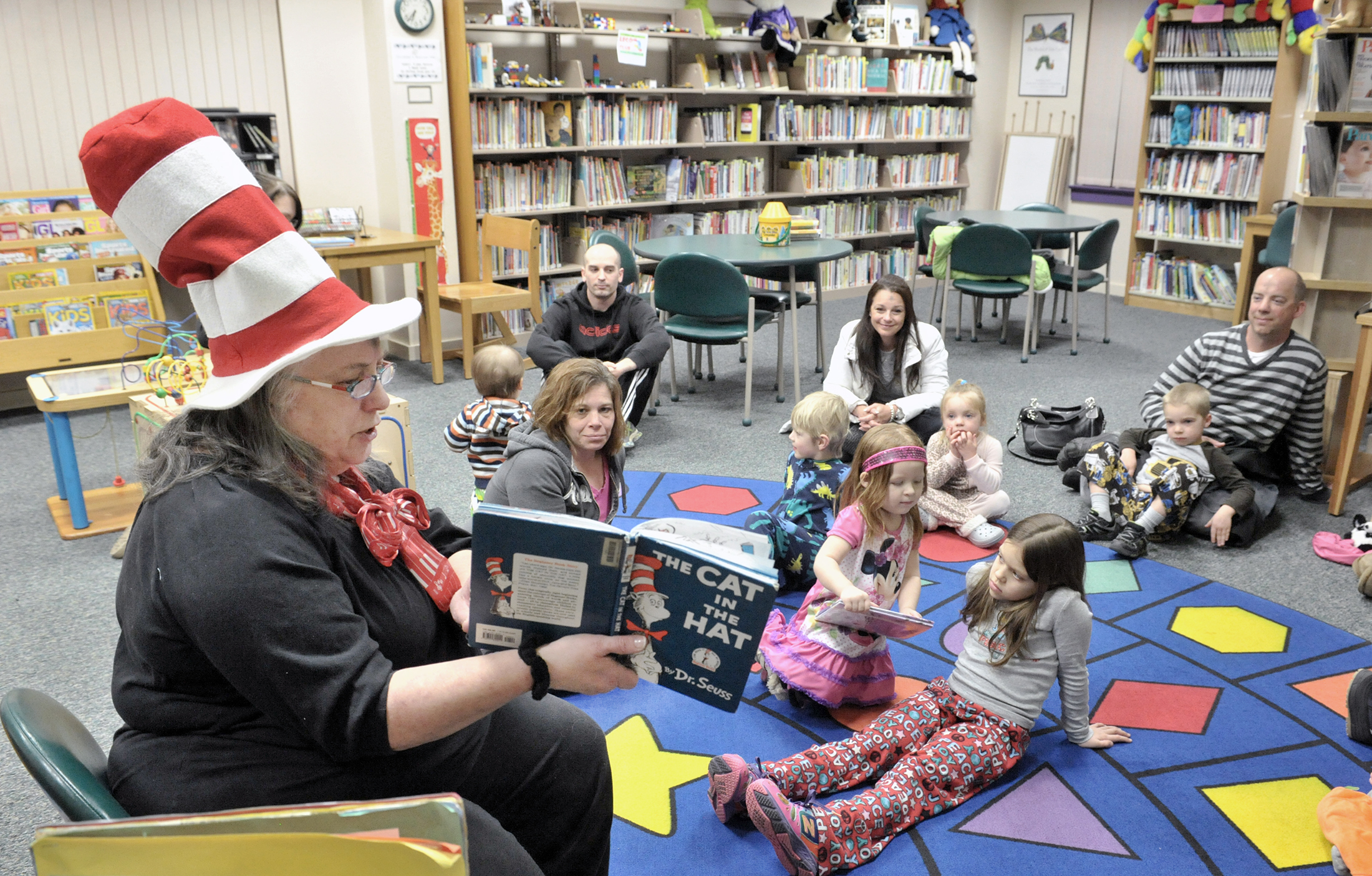 Library has activities and programs for all
