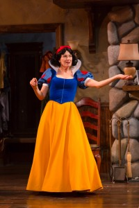"""""""Law and Order""""'s Leslie Hendrix is Masha in """"Vanya and Sonia and Masha and Spike"""" at Hartford Stage. (Photo by T. Charles Erickson.)"""