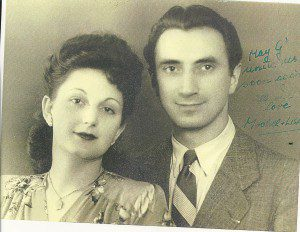 Mona's parents, Lisa Jura and Michele Golabek