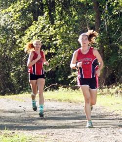 Westfield girls' cross country 9/15/15