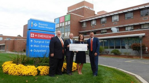 Baystate Noble Hospital gets state funding to make much-needed improvements to front entrance