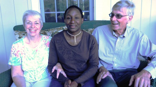 Blandford couple hosts visiting scholar from Tanzania