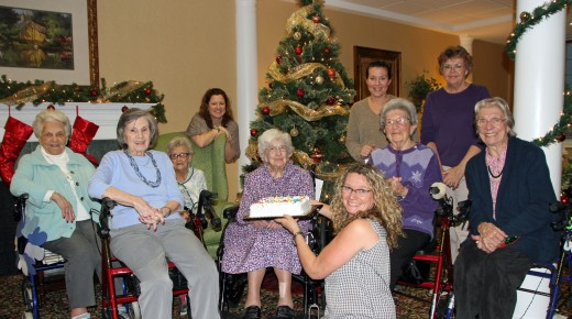 Happy 107th Birthday Lena Petrucelli