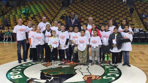 Local Kids Get Trip To See Celtics