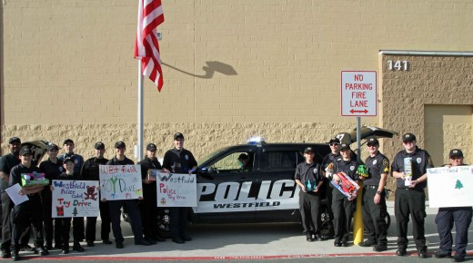 Westfield Police Cadet Toy Drive