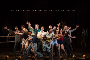 The cast of Hartford Stage's Kiss Me Kate. (Photo by T. Charles Erickson)