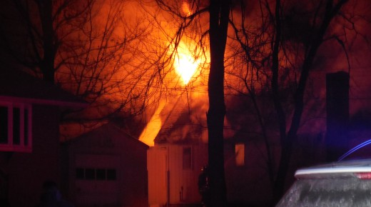 Russell home a total loss after fire