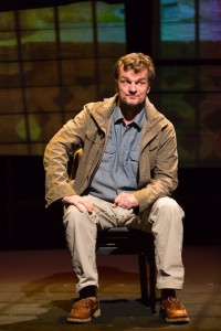 Michael Cumpsty in The Body of an American at Hartford Stage. (Photo by T. Charles Erickson)