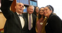Higher ed. head visits Westfield State campus