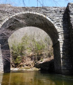 Hilltown business group visits Keystone Arch Bridges Trail in Chester