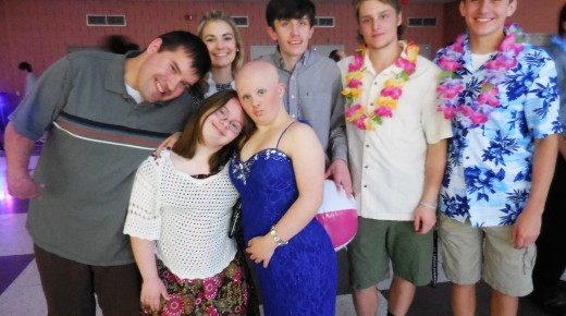 Spirits are high at Best Buddies Prom