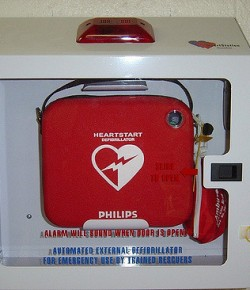Tell us where AEDs are