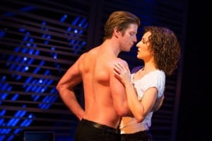 Christopher Tierney and Rachel Boone star in Dirty Dancing.