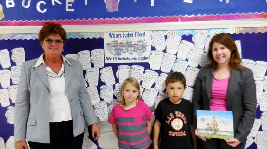 Littleville Elementary students fill buckets with kindness