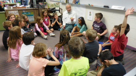 Westfield students at Russell Elementary learn about their environment