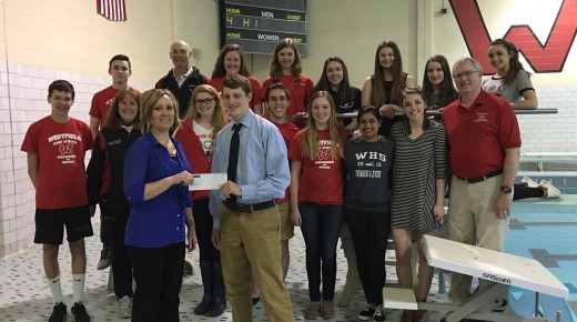 Westfield Bank Donates to Westfield High School