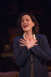 Barbara Walsh in Presto Change-O at Barrington Stage. Photo by Scott Barrow