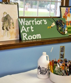Local veteran finds therapy through art