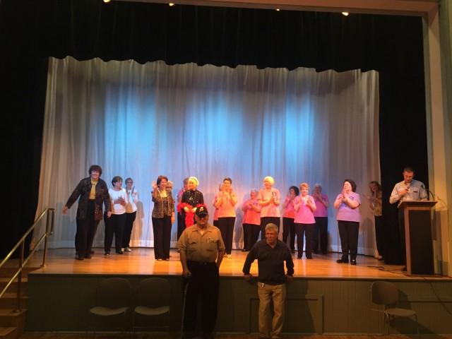 Southwick Seniors talent show participants