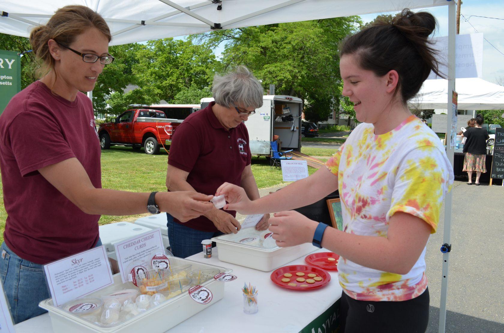 Strawberry Festival Among Market Vendors Thursday