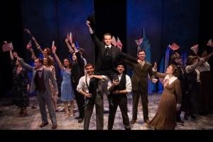 The ensemble of Fiorello. Photo by Emma Rothenberg-Ware