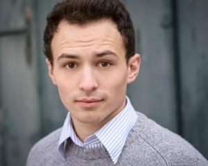 Austin Lombardi is LaGuardia in the musical Fiorello