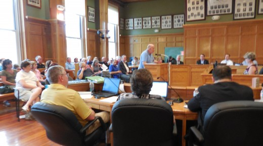 Residents weigh in on budget at hearing