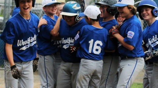 Westfield American and Easthampton compete in Little League action