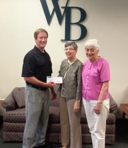 Westfield Bank donates to religious nonprofit