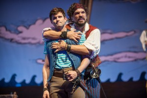 Kyle Dean Massey and Will Swenson in The Pirates of Penzance at Pittsfield's Barrington Stage. Photo by Kevin Sprague