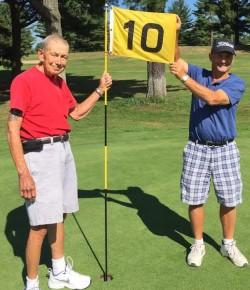 Guardian angels help local golfer overcome death