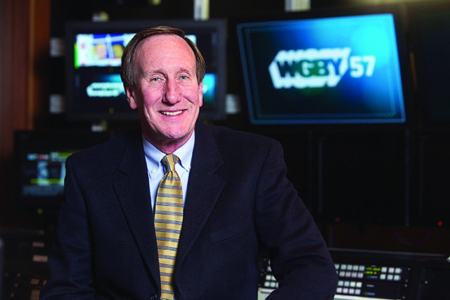 Rus Peotter, General Manager of WGBY-TV. (Photo courtesy of WGBY-TV)