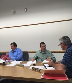 Select Board discusses outcome of Motocross National race