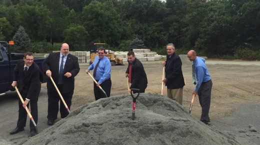 Local officials host event for new salt shed
