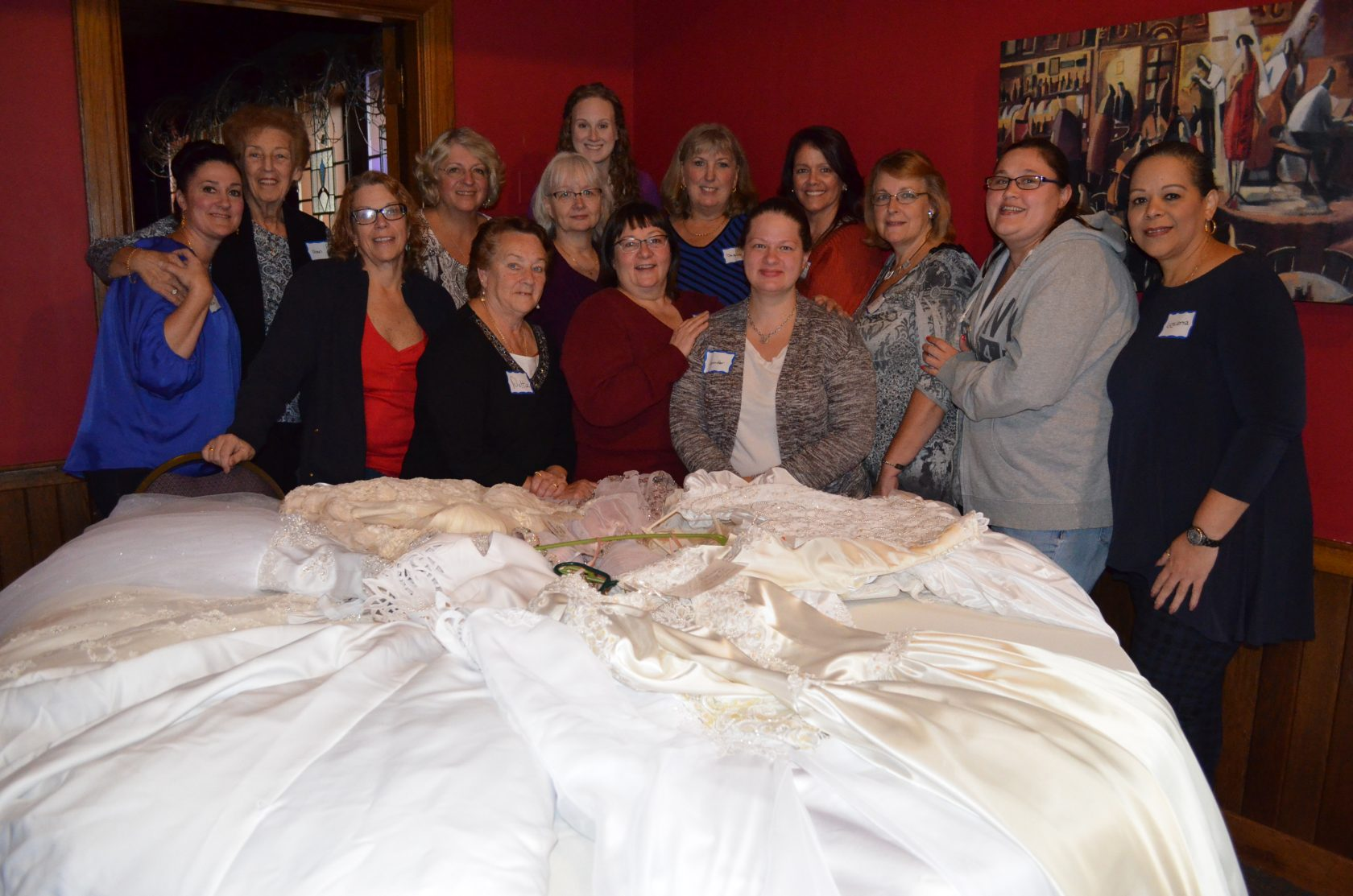 Wedding Gowns Transformed For Angel Babies Project