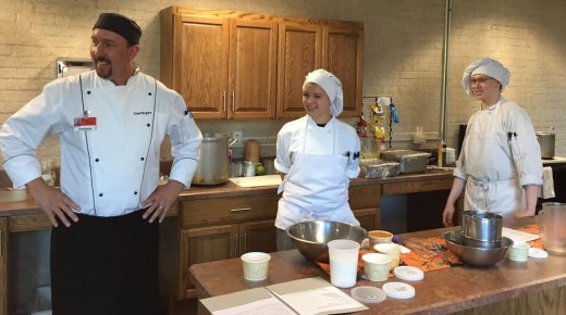Westfield Tech culinary students bring talents to Southwick Senior Center