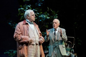 PJ Benjamin and Patrick Husted in Camping With Henry and Tom at Barrington Stage. Photo by Scott Barrow.