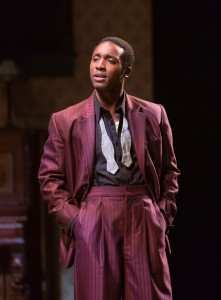 Galen Ryan Kane in August Wilson's The Piano Lesson. Photo by T. Charles Erickson