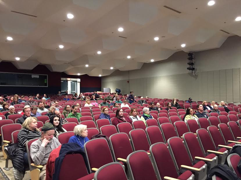 Community expresses their feelings on Granville Village School