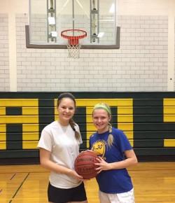 Girls basketball players chosen to be on youth advisory board
