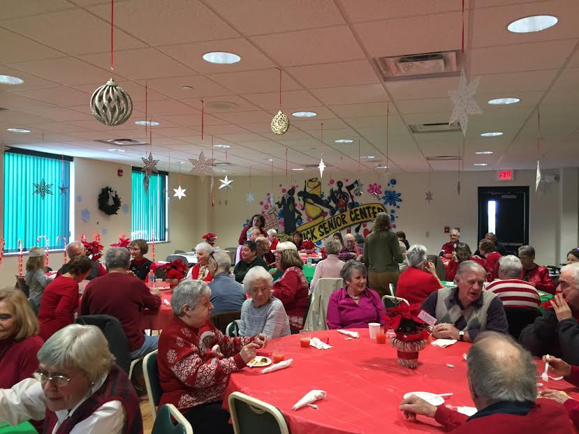 Council on Aging hosts Christmas party for seniors