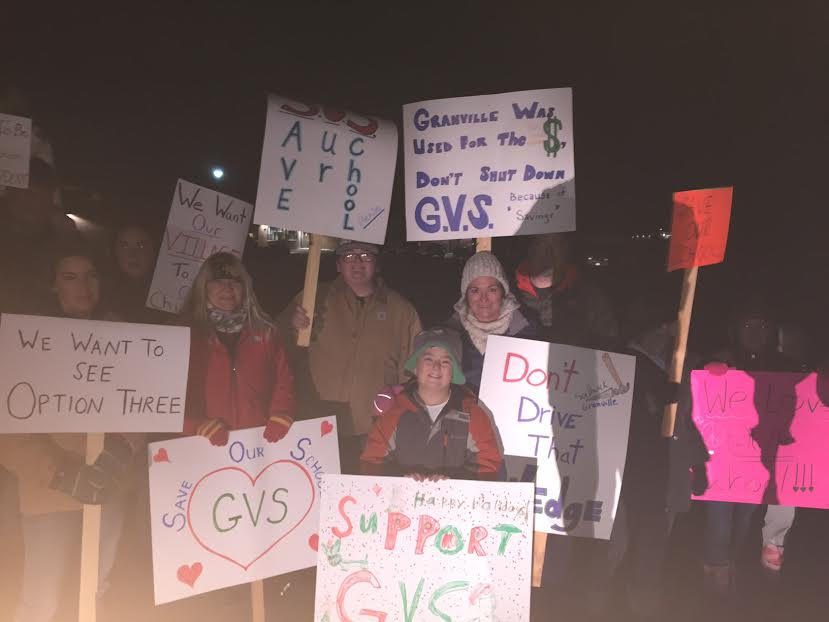 People rally together, support Granville Village School