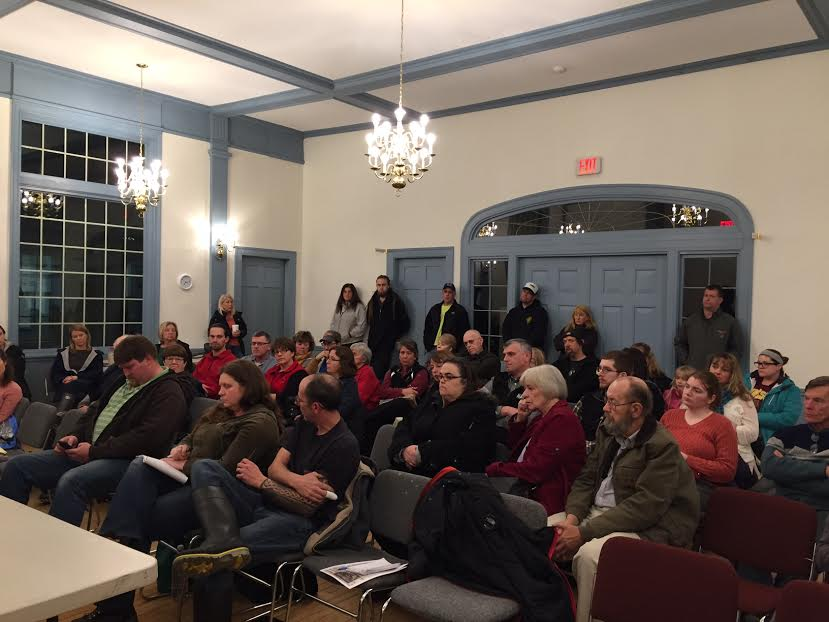 Granville Village School supporters discuss plans for saving school at latest forum