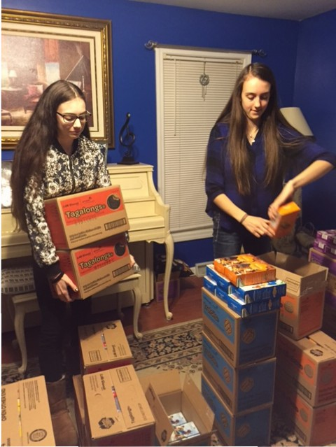 Girl Scout Cookie Sales Celebrates Centennial