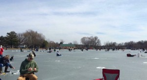 The North Pond Ice Fishing Derby is still set to happen on Saturday. (WNG File Photo)