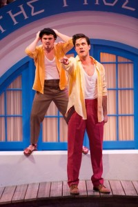 Matthew Macca and Ryan-James Hatanaka in The Comedy of Errors. Photo by T. Charles Erickson.